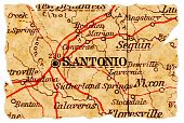 San Antonio Old Map