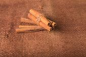 foto of cinnamon sticks  - Cinnamon - JPG