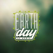 stock photo of earth  - Earth Day - JPG