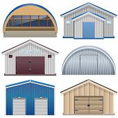 picture of farm-house  - Barns including farming barn - JPG