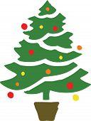 Stylised Christmas Tree 3