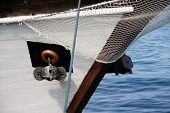 stock photo of anchor  - Old boat anchor - JPG