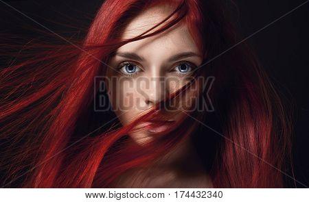 free redhead facials