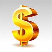 pic of money prize  - dollar sign vector - JPG