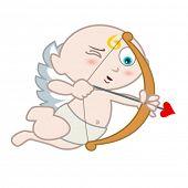 picture of ero  - eros with love arrow - JPG