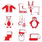 Navidad icon set