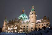 De nieuwe gemeente City Hall Hannover