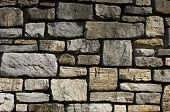 Cut Stone Wall Detail