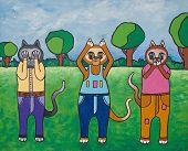 Katzen der Weisheit