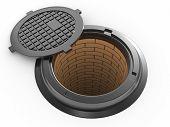 Canalization Manhole