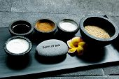 Famous spa treatments as offered by the resort