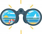binoculares de visión