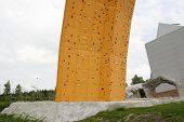 Part Of A Climbing Wall