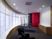 stock photo of business-office  - interior of a modern office - JPG
