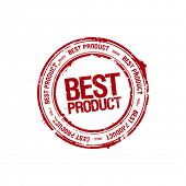 vector best product leader stamp