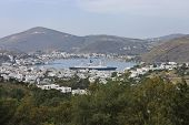 Patmos Island Scenic View