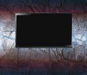 Flat screen on a wall