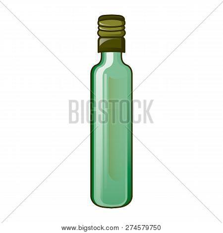 Olive Virgin Oil Bottle Icon