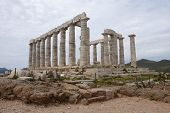 image of poseidon  - POSEIDON AT SOUNION APRIL 21  - JPG