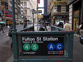 Fulton St Station