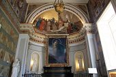 pic of sissi  - Chapel inside Achillion palace in Corfu Greece - JPG