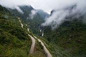 Bhote-Koshi River In Tibet