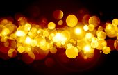 Abstract, Background, Black, Spot, Bokeh, Bright, Christmas, Color, Colorful, Decoration, Design, Fe poster