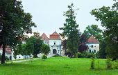 Svirzh Castle Park View(ukraine).