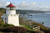 Trinidad Memorial Lighthouse In Northern California