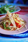 Thai Papaya Salad Hot And Spicy poster