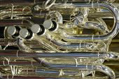 Silver Euphonium Horn