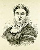 Porträt der Königin Victoria von Großbritannien und Irland. Illustration von Alwin Zschiesche, Publius