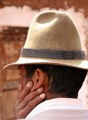 Farmer With Hat, Peru