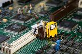 Repairing Electronic Circuitry