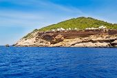 Ibiza Sa Talaia coast in Balearic islands Cala d Hort