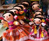 Colorful Lupita Dolls Mexico