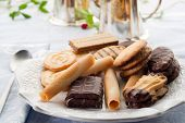 variety of biscuit