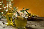 pot of olive oil
