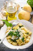 Постер, плакат: Ореккетте с репой Топ типичный итальянский рецепт