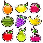 Glossy Fruits