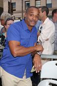 LOS ANGELES - OCT 30:  Rocky Carroll at the Hollywood Walk of Fame Ceremony for Mark Harmon at Holly