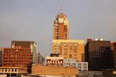 Lansing, Michigan At Sunrise