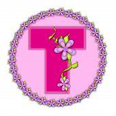 Alphabet Daisy Chain T