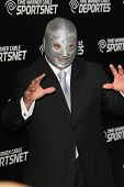 LOS ANGELES - OCT 30:  El Hijo Del Santo arrives at the Time Warner Sports Launch of TWC Sportsnet at TWC Sports Studios on October 30, 2012 in El Segundo, CA