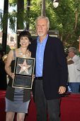 LOS ANGELES - OCT 3: Gale Anne Hurd, James Cameron at a ceremony as Gale Anne Hurd is honored with a