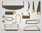 Saw. Manual bench tools