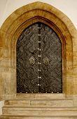 Iron gothic doors