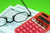 Tax Forms Eyeglasses Calculator
