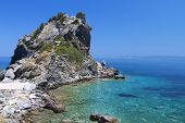 Skopelos island in Greece