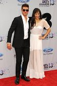 LOS ANGELES - JUN 30: Robin Thicke, Paula Patton at the 2013 BET Awards at Nokia Theater L.A. Live o